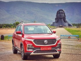 MG Hector Completes One Year With A Sales Number Of Over 24,000 Units In India