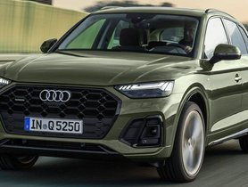 India-Spec Facelifted Audi Q5 Unveiled With Updated Design