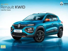 Cheaper Renault Kwid 1.0-Litre RXL Launched In MT And AMT Versions