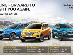 Renault Offers & Discounts For August 2020