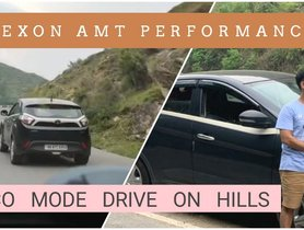 Tata Nexon AMT Performance In Hills In Various Driving Modes