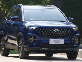 New MG Hector Plus Trim-Wise Features Out