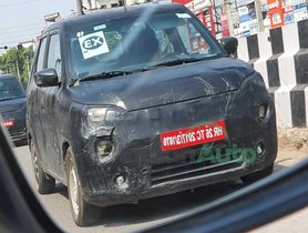 Pair of Maruti WagonR EV Test Mules Spotted – DETAILS