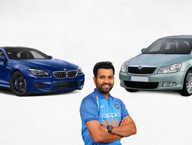 Rohit Sharma Car Collection: What does the star cricketer drive?