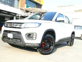 Base Model Maruti Vitara Brezza Gets Mean-looking Alloy Wheels