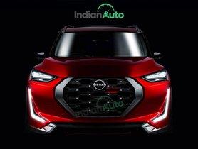 Nissan Magnite (Hyundai Venue-rival) Visualized, Web Debut on July 16