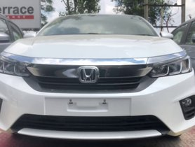 All-new Honda City Base Model Walkaround Video - Full Details