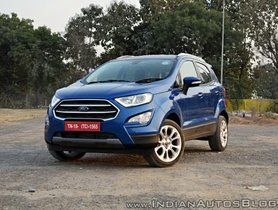 Ford Ecosport Automatic Gets More Affordable - FULL DETAILS