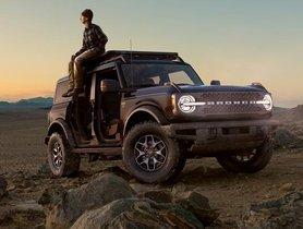 Ford Bronco Hybrid Revealed by Sync UI