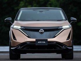 Nissan Ariya Electric SUV Unveiled, Gets Range of 480 Km