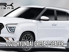 Hyundai Creta 7-Seater Digitally Imagined, Could Launch Next Year