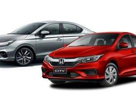 New Honda City VS Old Model - Price Comparison