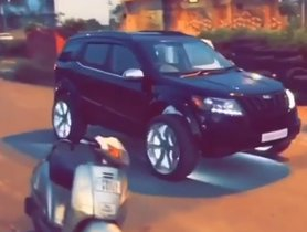 This Mahindra XUV500 Gets BIGGEST-EVER Alloy Wheels