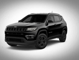Jeep Compass Night Eagle Limited Edition Teased