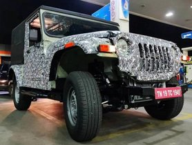 Next-gen Mahindra Thar, XUV500 Launch Postponed by 3 Months