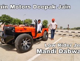 Modified Jeep With Wide Tyres Looks Outstanding, Gets Bolero's Engine
