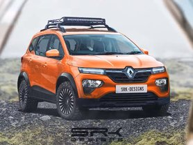 Renault Triber Adventure Edition Rendered With a Bold Body Kit & MT Tyres