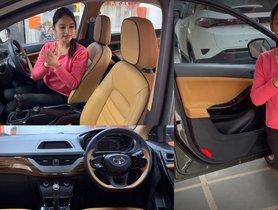Tata Nexon Base Model With Customized Interior Feels More Luxurious Than XZ+ Trim