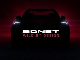 Kia Sonet Teased Again, Launch on August 7