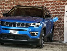 Plug-In Hybrid Jeep Compass Revealed With 50 Km Range