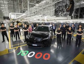 Lamborghini Celebrates Production of 10,000 Units of Urus