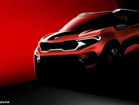Upcoming Kia Sonet Official Rendering Revealed