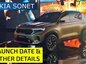 Kia Sonet Launching On August 7, Here's All You Should Know - Price, Features etc.