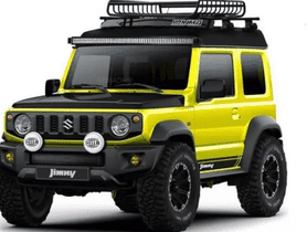 This Suzuki Jimny Looks All-Set To Counter Some Toughest Terrains