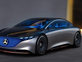 Mercedes-Benz EQS Electric Sedan To Come With Driving Range of 700 Kms