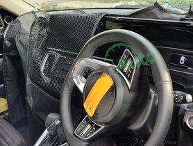 Kia Sonet Interior Spotted, Fresh Details Emerge