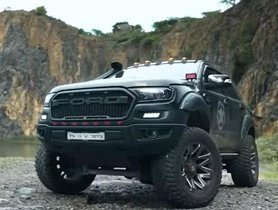Here's The Wildest Ford Endeavour In India