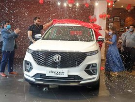 MG Hector Plus Deliveries Commence In India
