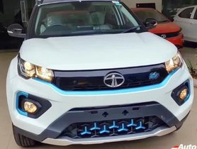 Tata Nexon Electric SUV XZ+ Lux Detailed In A Walkaround Video