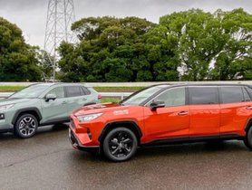 Check Out this Toyota RAV4-based Luxury Limousine