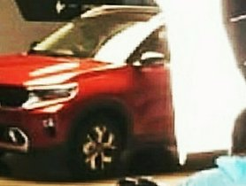 Kia Sonet Spied During The Shooting Of Its Global Premiere