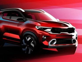 All-New Kia Sonet Official Pictures Unveiled Ahead Of Its Global Debut