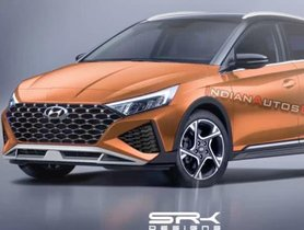 New-gen Hyundai i20 Active Rendered With New Styling