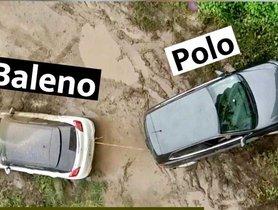 Maruti Baleno vs VW Polo In A Tug of War – Shocking Results!