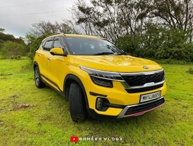 "Kia Seltos Looks Like a ""Dazzling Sun"" In A Shade of Bright Yellow"