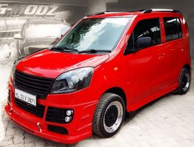 Modified Wagon R:  Best Examples of Modified Wagon R Car in India