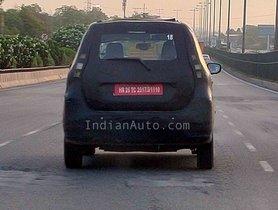 Maruti WagonR EV (XL5) Spied On Test In Gurugram Yet Again