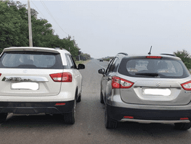 Maruti Vitara Brezza VS S-Cross In A Drag Race