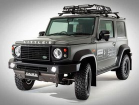 Suzuki Jimny With Little D Body Package Looks Like Old Land Rover Defender