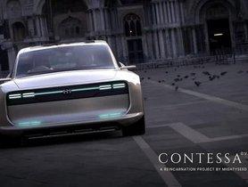 Hindustan Contessa Electric Car Concept Looks Alluring