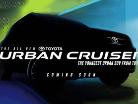 Maruti Vitara Brezza-based Toyota Urban Cruiser Teased Ahead of Launch