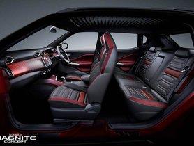 Nissan Magnite Concept Interior Unveiled