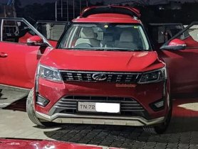 Mahindra XUV300 (5-star NCAP) Suffers Minimal Damage After Hitting A Cow