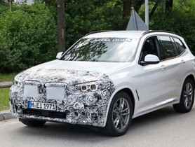 BMW X3 Facelift Spotted Testing, Launch Slated For Next Year