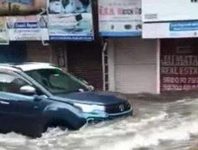 Even Mumbai Floods Can't Stop a Tata Nexon EV!