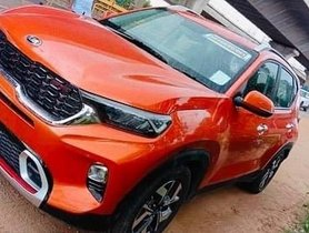 Kia Sonet Spied in Real World Conditions